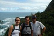 Ellen, Lynne andJohn