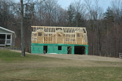 barn progress