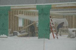 construction tent