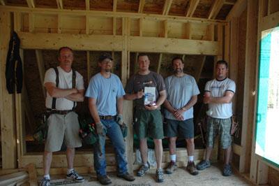 Chris, Rick, Doug, Kevin, Jeremy