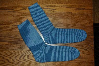 my first pair of socks