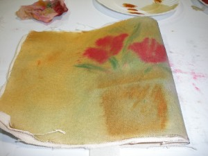 canvas keepsake book