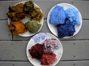 dye experiments #1