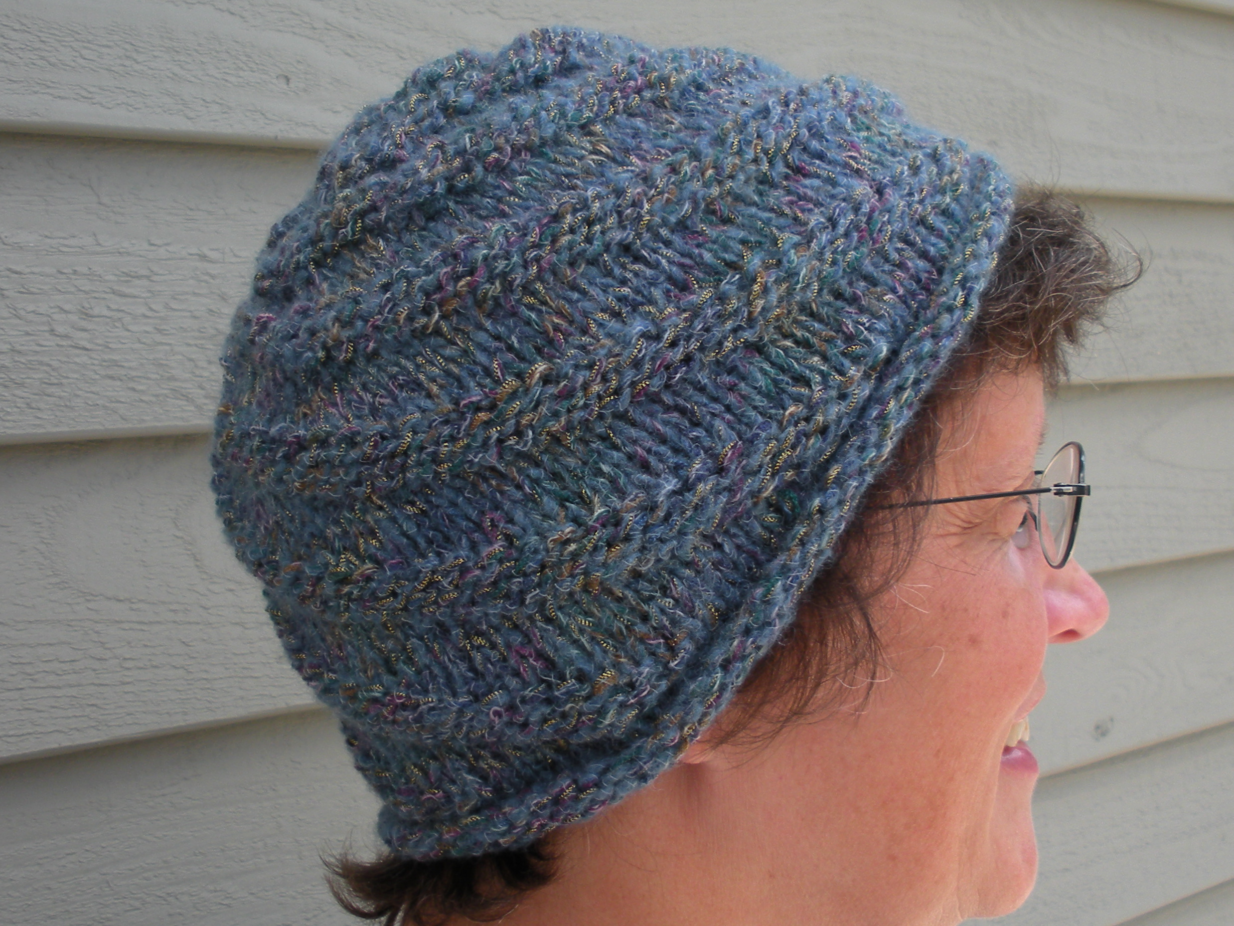 Sea Slug Scarf and Spiral Hat Mountain Vistas
