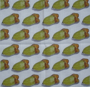 Spoonflower fabric - coconuts