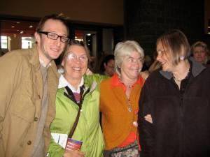 Lucas, Anne, Janice, Suzanne
