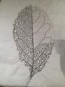 leaf skeleton stitching