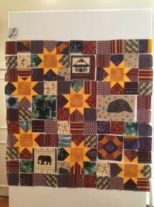 Josiah's quilt front